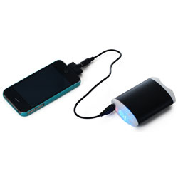 Portable Emergency Hand Warmer Flashlight Phone charger