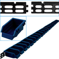 Stalwart Wall Mounted Parts Rack - 20 Bins