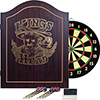 TG? King's Head Value Dartboard Cabinet Set - Dark Wood