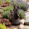 Navarro Boy and Girl Water Outdoor Fountain