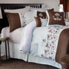 Lavish Home Hannah 7 Piece Embroidered Comforter Set - Queen