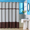 Lavish Home Claridge Embroidered Shower Curtain w/ Grommets