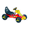 Ride On Toy Go Kart, Battery Powered Ride On Toy by Lil? Rider ? Ride On Toys for Boys and Girls, For 3 ? 5 Year Olds (Red)