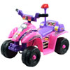 Ride On Toy Quad, Battery Powered Ride On Toy ATV Four Wheeler With Princess Theme by Lil? Rider ? Toys for Boys and Girls 2 - 4 Year Olds (Pink)
