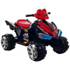 Ride On Toy Quad, Battery Powered Ride On Toy ATV Four Wheeler With Sound Effects by Lil? Rider ? Toys for Boys and Girls, 3-6 Year Olds (Black)