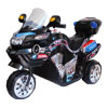 Ride on Toy, 3 Wheel Motorcycle for Kids, Battery Powered Ride On Toy by Lil? Rider ? Ride on Toys for Boys and Girls, 2 - 5 Year Old - Black FX