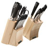 Top Chef� Super Set - 20-Piece Knife Set with Wood Storage Blocks