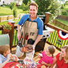 Chefs Outdoor 7-Piece BBQ Apron and Utensil Set