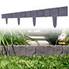 10 Piece Cobblestone Flower Bed Border by Navarro