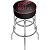 Ohio State Smoking Brutus Padded Bar Stool