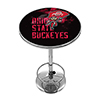Ohio State Smoking Brutus Brutus Chrome Pub Table