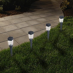 LED Solar Modern Pathway Lights - Set of 24 Image