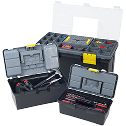 Parts & Crafts 3-in-1 Tool Box Storage Set Image