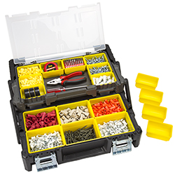 Parts & Crafts Tiered Storage Tool Box - 18 Inch Image