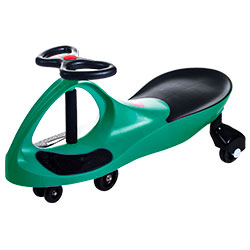 Ride on Toy, Ride on Wiggle Car by Lil? Rider ? Ride on Toys for Boys and Girls, 2 Year Old And Up, (Green)