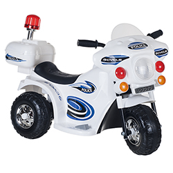 Ride on Toy, 3 Wheel Motorcycle for Kids, Battery Powered Ride On Toy by Lil? Rider ? Toys for Boys and Girls, Toddler - 4 Year Old, Police Car