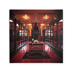 Budweiser 'Clydesdale Historic Museum' Canvas Art