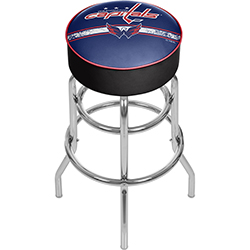 NHL Chrome Bar Stool with Swivel - Washington Capitals®