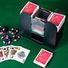 Automatic Card Shuffler ? Battery Operated, 6 Deck Playing Card Dispenser ? Game Night Casino Equipment and Accessories by Trademark Poker