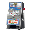 Cherry Bonus Slot Machine bank W/ Spinning reels