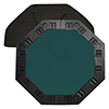 8 Player Octagonal Table top - Dark Green - 48 inch