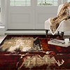 Lavish Home Opus Artfully Abstract Area Rug - Red - 5'3