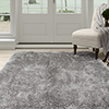 Lavish Home Shag Area Rug - Grey - 3'3