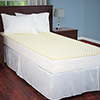 Everyday Home Mattress Topper - Egg Crate Ventilated Foam - Twin Size