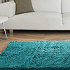 Lavish Home High Pile Shag Rug Carpet - Seafoam - 21x36