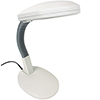 Lavish Home Sunlight Desk Lamp 26 inches - White