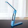 Lavish Home LED Folding Lamp Book Light Clock Calendar Alarm - Blue