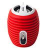 Sunbeam Red Rechargeable Portable Speaker with Cable