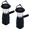 Whetstone Solar Dynamo Camping Lantern-No Batteries Needed-Set of 2