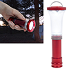 Stalwart 2-in-1 LED Focus Adjustable Flashlight Lantern - Red
