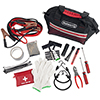 Stalwart 55 Pc Emergency Roadside Kit with Travel Bag - Red