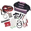 Stalwart 55 Pc Emergency Roadside Kit with Travel Bag - Pink