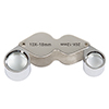 Stalwart 10x and 20x Dual Jewelers Eye Loupe Magnifier with Case