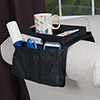 Trademark 6 Pocket Arm Rest Organizer w/ Table-Top