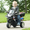 Lil' Rider 3 Wheel Battery Powered FX Sport Bike - Black