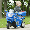 Ride on Toy, 3 Wheel Motorcycle Trike for Kids by Lil? Rider ? Battery Powered Ride on Toys for Boys and Girls, 2 - 5 Year Old -�Blue FX