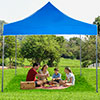 Stalwart Pop-Up Instant Canopy Tent - 10' x 10' - Blue