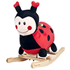 Happy Trails Rocking Lucy the Ladybug