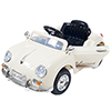 Ride On Toy Car, Battery Powered Classic Sports Car With Remote Control and Sound by Lil? Rider ? Toys for Boys and Girls, 2 ? 5 Year Olds (Cream)