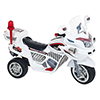 Ride on Toy, 3 Wheel Motorcycle Trike for Kids, Battery Powered Ride On Toy by Lil? Rider ? Ride on Toys for Boys and Girls, 2 - 6 Year Old - White