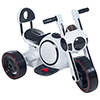Ride on Toy, 3 Wheel LED Mini Motorcycle Trike for Kids by Lil? Rider ? Battery Powered Toys for Boys and Girls, Toddler - 4 Year Old - White