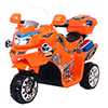 Ride on Toy, 3 Wheel Motorcycle for Kids, Battery Powered Ride On Toy by Lil? Rider ? Ride on Toys for Boys and Girls, 2 - 5 Year Old - Orange FX