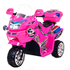 Ride on Toy, 3 Wheel Motorcycle for Kids, Battery Powered Ride On Toy by Lil? Rider ? Ride on Toys for Boys and Girls, 2 - 5 Year Old - Pink FX