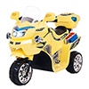 Ride on Toy, 3 Wheel Motorcycle for Kids, Battery Powered Ride On Toy by Lil? Rider ? Ride on Toys for Boys and Girls, 2 - 5 Year Old - Yellow FX