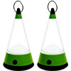 Whetstone 19 LED Camping Lantern-2 Lighting Modes-Set of 2