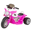 Ride on Toy, 3 Wheel Mini Motorcycle Trike for Kids, Battery Powered Toy by Lil? Rider ? Toys for Boys and Girls, 2 - 5 Year Old - Police Car Pink